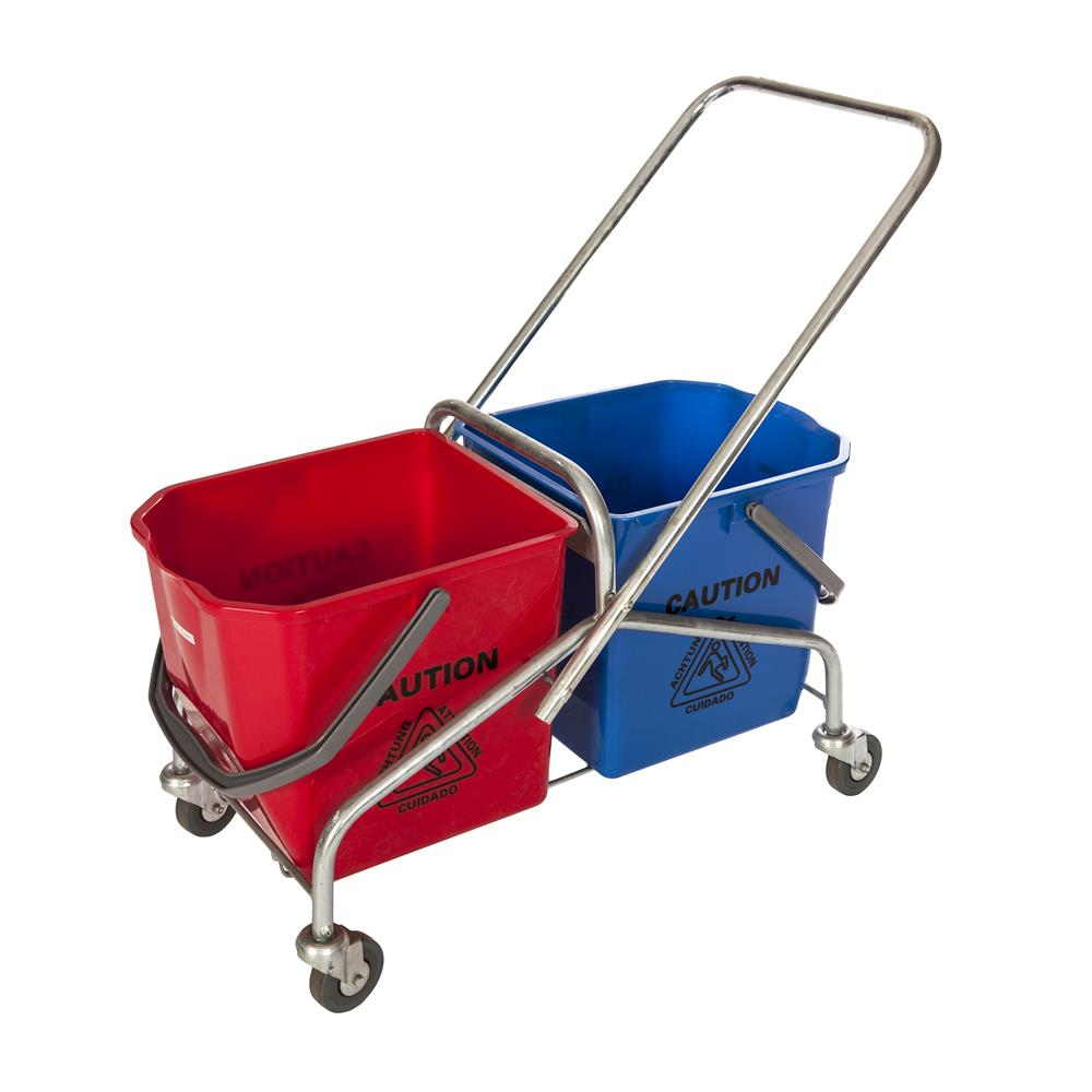 CHINESE DOUBLE TROLLEY (NO BUCKETS)