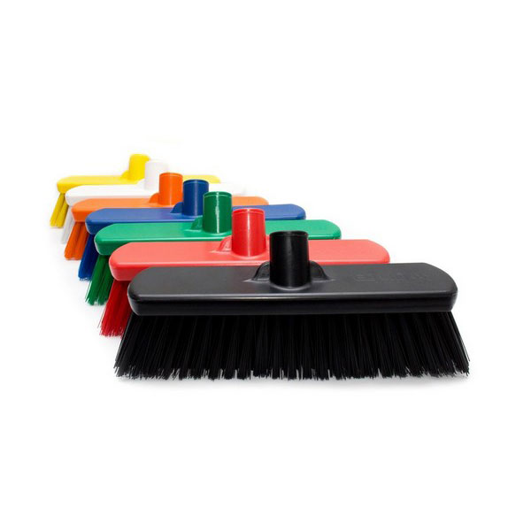 300MM TINTA HYGIENE BROOM HEAD ONLY – HARD (GREEN)