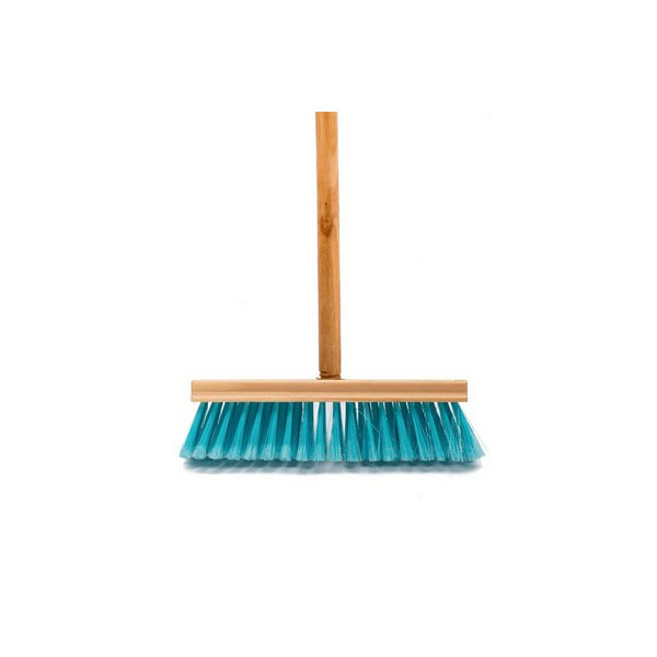 PROMO BROOM WITH SCREW FIT & WOODEN HANDLE